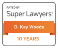 SuperLawyers 10 Year Badge - D Kay Woods
